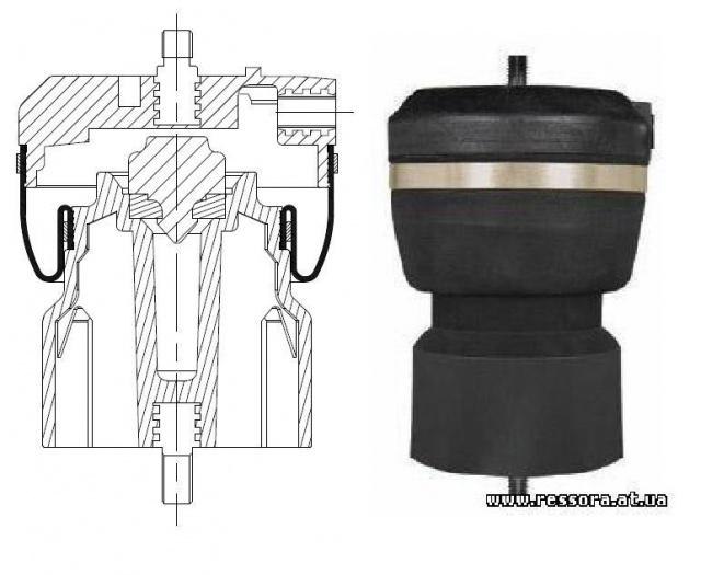 IVECO : 41019150 IVECO : 8169050 Cross Nm PIRELLI : IGC130-30: продажа, цена в Донецке, Магазин «ЗАПЧАСТИ TIR - Пневморессоры»