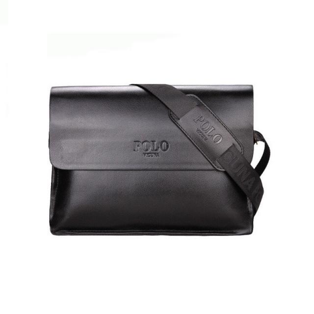 ec77506014da Мужская сумка POLO VIDENG А4 Black, цена 599.00 грн., фото, заказать ...