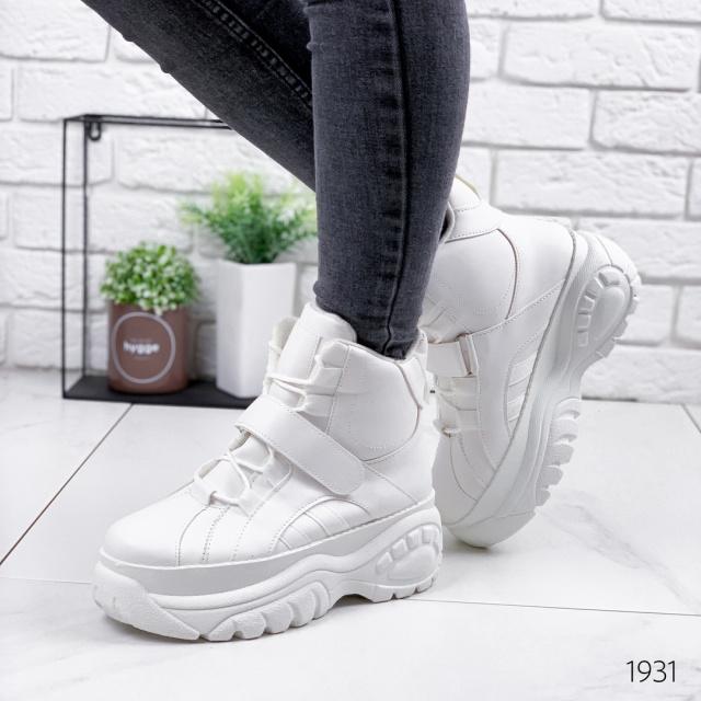 Ботинки женские Bufi белые