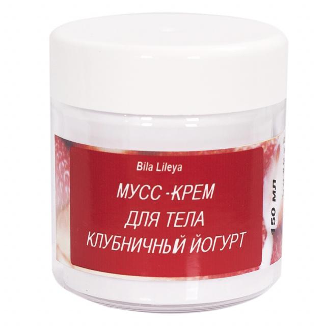 Мусс-крем для тела Клубничный йогурт 150 мл