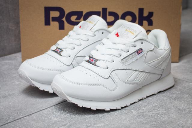 Кроссовки женские Reebok Classic, белые (14432),   36 37 38  , цена ... ecebdc7c253
