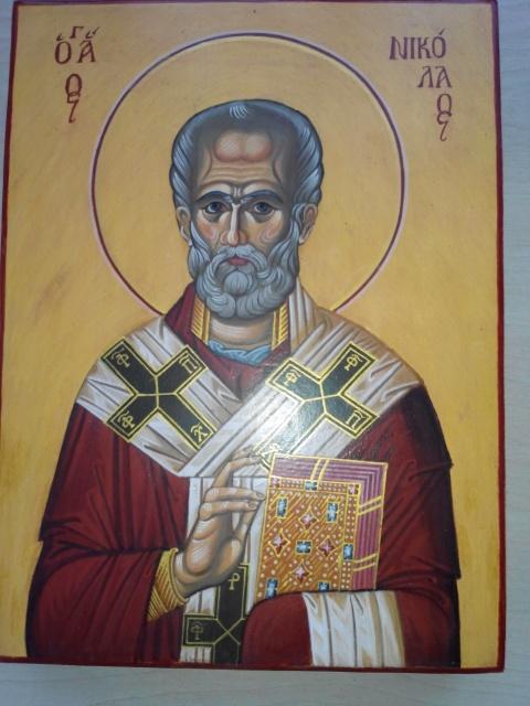 Св. Николай Чудотворец, архиепископ Мир Ликийских.
