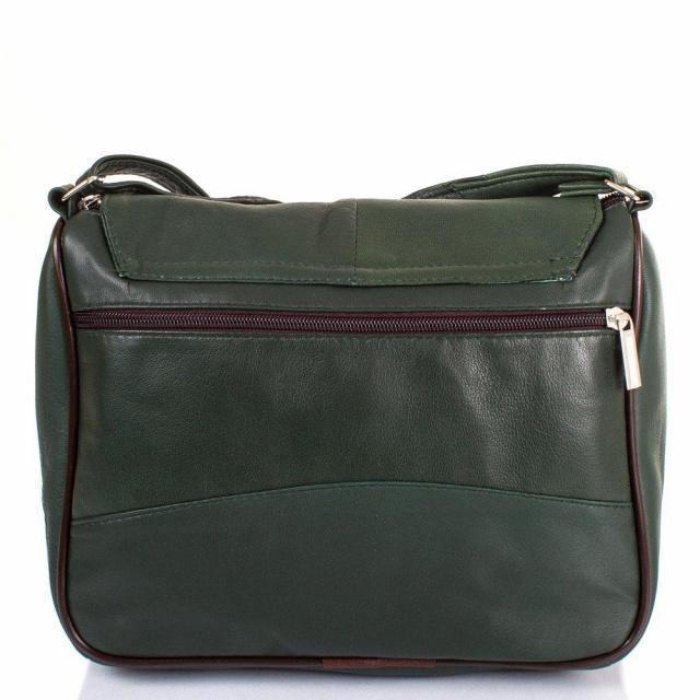 39869241eedd Количество основных отделений: 1. Аксессуар имеет один прорезной карман на  молнии и один накладной карман. На лицевой и тыльной сторонах сумки есть