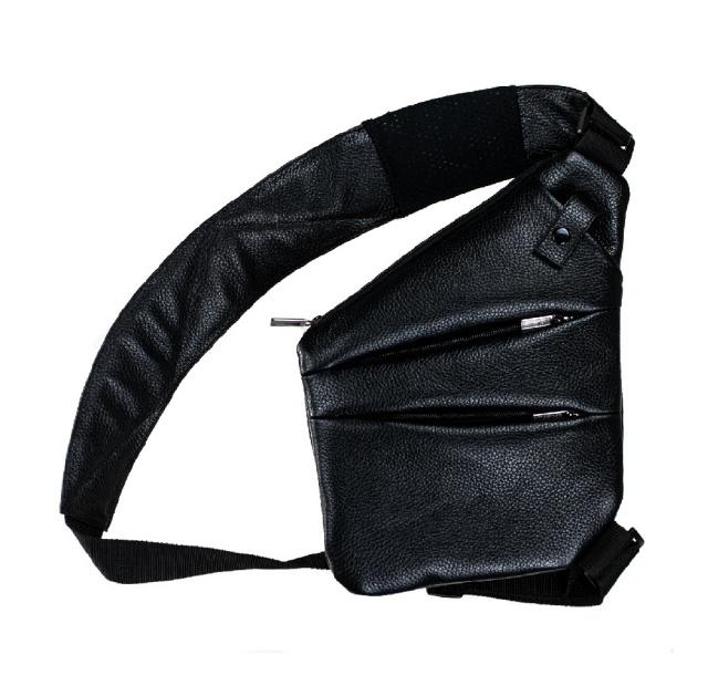 61bf6064f6ae Мужская сумка Valenta кожаная через плечо 28х22х2 см Черная (ВС1425  BLF)|escape: