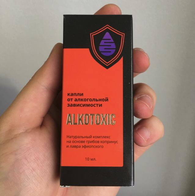 Alkotoxic - капли от алкоголизма в Рязани
