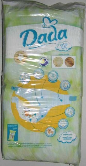 Одноразовые детские подгузники Dada Extra Soft 3 Midi (Дада экстра софт) 3 ( 4-9 кг) 60 шт. с доставкой по Украине 78a8306dbad