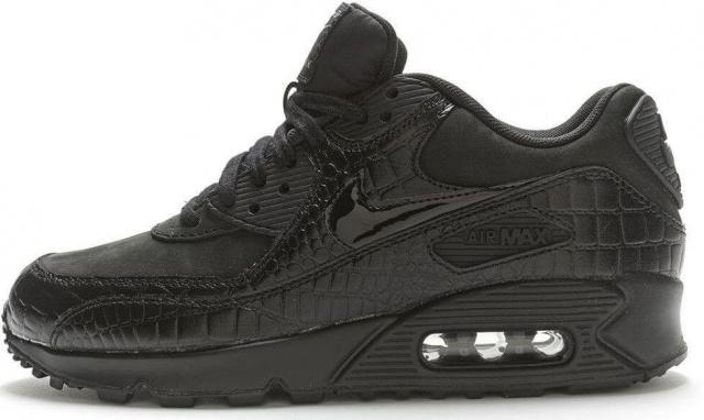 e5a9df96 Кроссовки Nike Air Max 90 Premium «Black Crocodile» Арт. 0830 ...