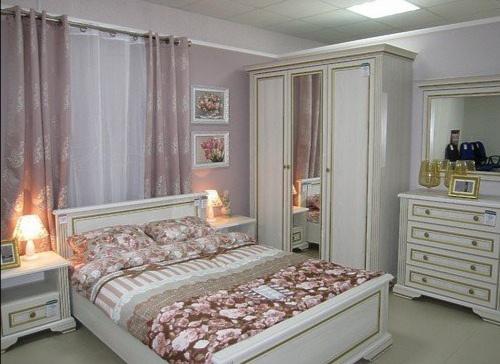 Спальный гарнитур «Вайт»