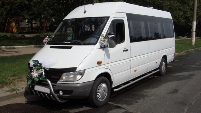 Микроавтобусы для гостей на Вашу свадьбу