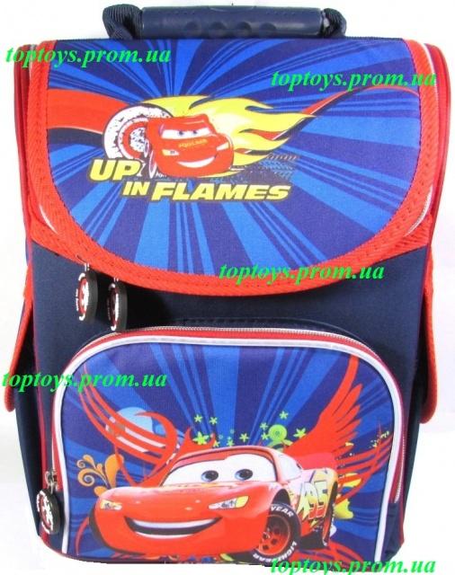 6d8891b09bc3 Рюкзак каркасный ортопедический школьный для мальчика Тачки, Молния Маквин  + Подарок