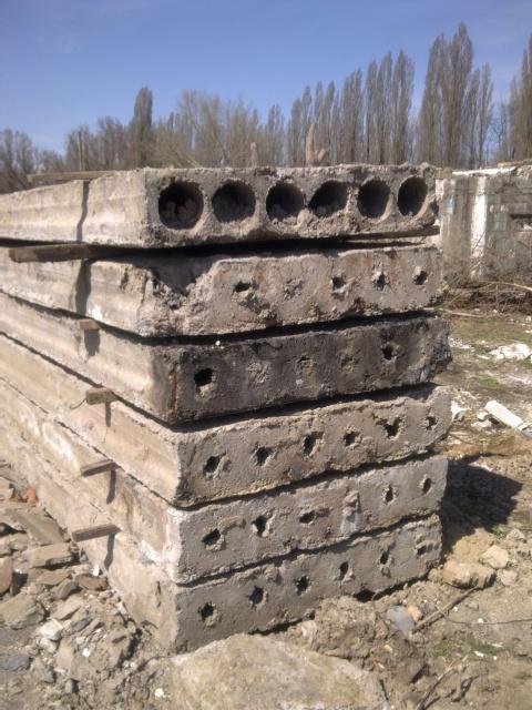 Плиты перекрытия ПК 60-12-8