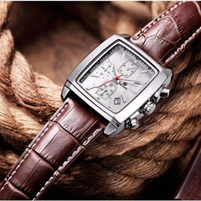 c5f5f3da Мужские квадратные наручные часы JEDIR MATRIX Seiko Quartz (Япония ...