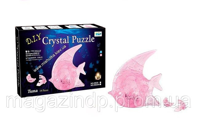 3D пазл Crystal Puzzle - Рыбка Код 6460537  продажа 65056c686d67b