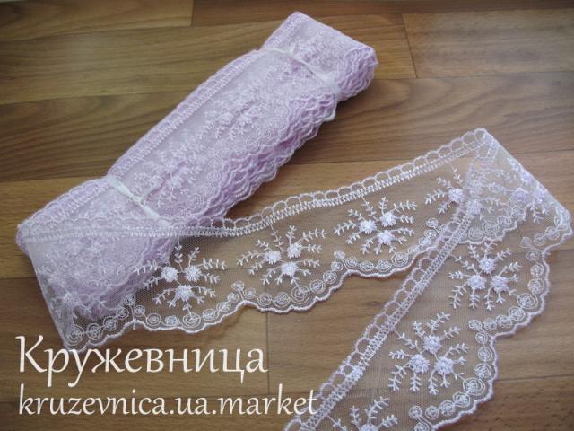 Кружево на сетке 7см.: продажа, цена в Днепропетровске, Кружевница
