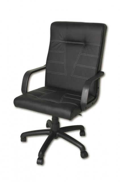 Кресло для дома и офиса Джета к/з Неаполь