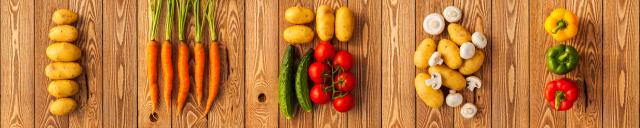 Скинали «Овощи»