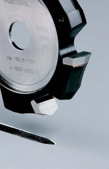 Фреза V-образная HW HW 118x18-135GRAD (ALU) пазовая для фрезерования композитных панелей 135 градусов