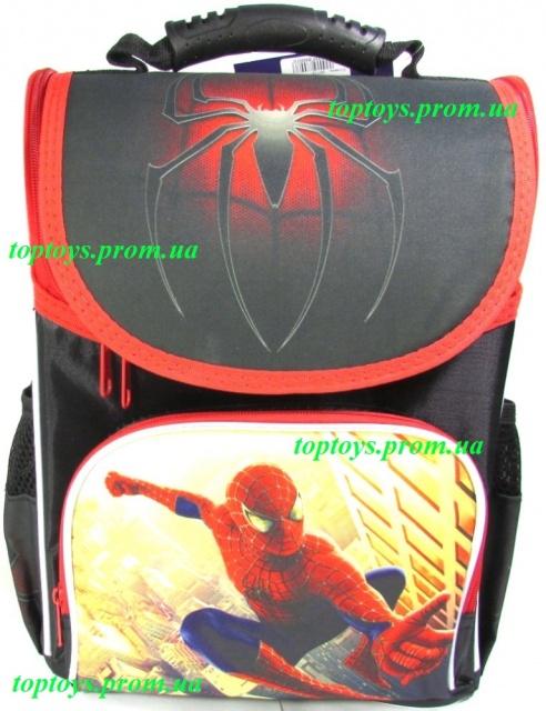 8d65b7922419 Рюкзак каркасный ортопедический школьный для мальчика Spider man ...