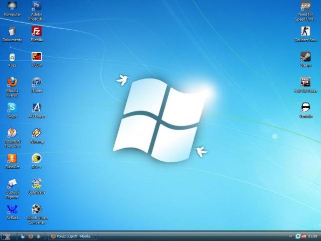 Установка ОС, Microsoft Windows, без сохранения важной информации