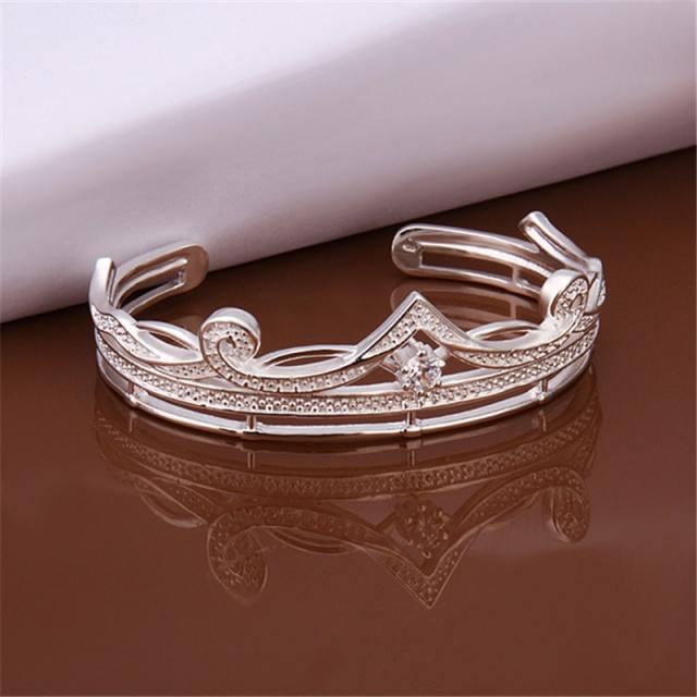 браслет корона Tiffany Tf B204 покрытие серебром 925 продажа