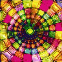 3D Плитка «Тунель»