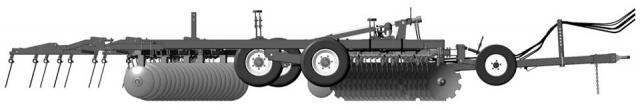 Борона дисковая AGROLAND Б40