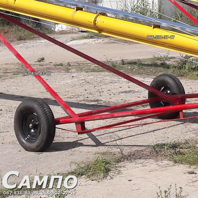 Мобильный шнековый транспортер колеса подвесного конвейера