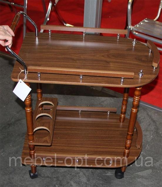 сервировочный столик на колесиках W 17 сервировочная тележка деревянная на колесиках