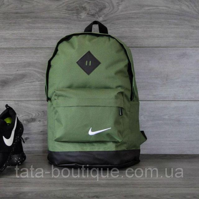 5d7c91eb Стильный рюкзак NIKE (Найк). Зеленый, хаки с черным.: продажа, цена ...