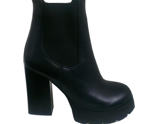 Женские ботинки на толстом каблуке и платформе для модниц escape  html  b35dc10fd53