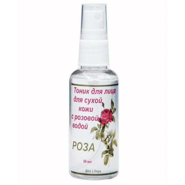 Тоник для лица для сухой кожи Роза с розовой водой 50 г