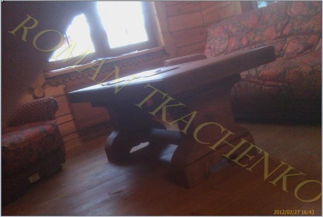 Эксклюзивные столы под старину