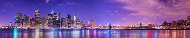 Скинали «Панорама вечернего города»