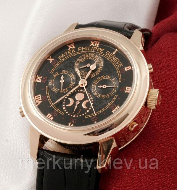 5052f0d1 Часы Patek Philippe Sky Moon Tourbillon Gold (кварцевые)|escape:'html'