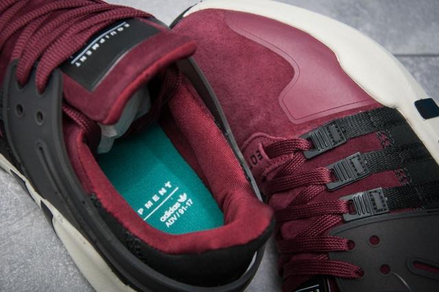 1793289d Кроссовки мужские Adidas EQT ADV/91-16, бордовые (11996), р. 41-45 ...
