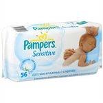 Салфетки влажные детские Pampers Sensitive 56
