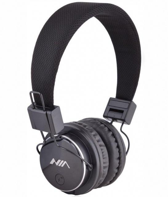 Беспроводные Bluetooth наушники NIA X3 c FM и MP3 Silver 862bc057058d6