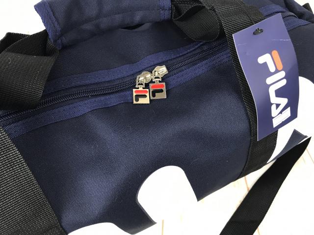 dd41e1e5d22a Небольшая красивая спортивная сумка Fila.Унисекс Товарный код КСС12-2.  Размер (в см) Длина 44 Высота 23 Толщина 23 Цвет - синий Материал -  полиестер ...
