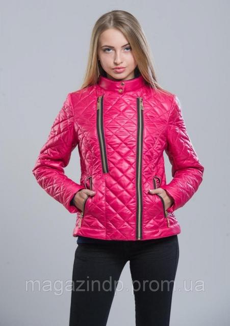 Куртка женская №11 (малина) Код 661522657  продажа 84019e496e5d8
