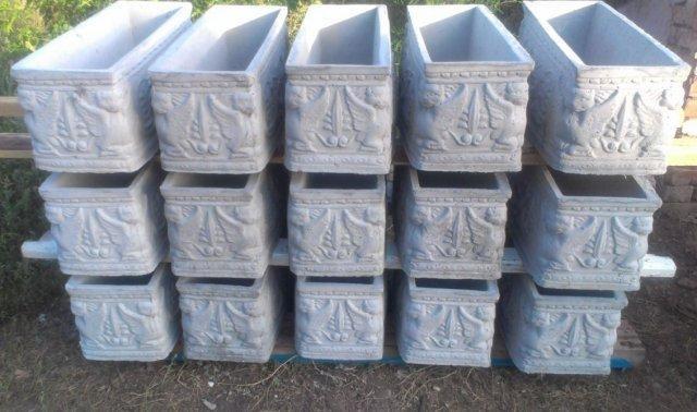 Купить формы для декора из бетона мел в цементном растворе