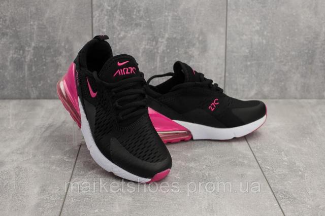 551cf895 Кроссовки G 3074-11 (Nike Air 270) (весна/осень, женские, текстиль, черный- розовый)