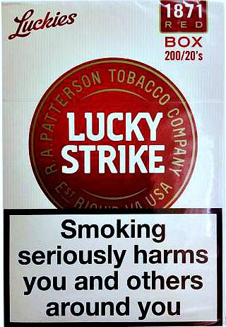 Сигареты лаки страйк красные купить сигареты tron купить