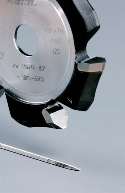 Фреза V-образная HW HW 118x14-90GRAD (ALU) пазовая для фрезерования композитных панелей 90 градусов