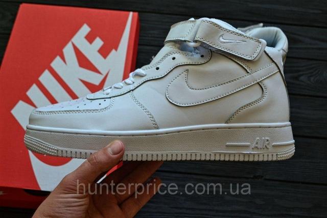 82d488af Женские кроссовки Nike Air Force 1 Mid All white: продажа, цена в ...