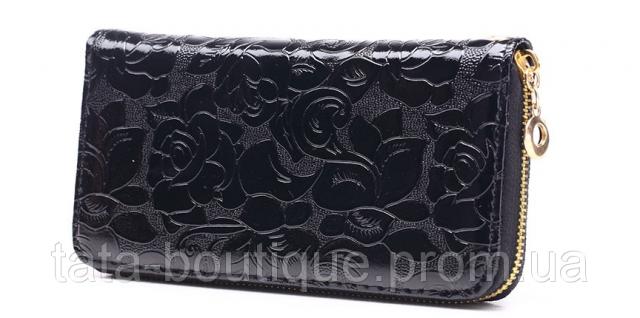 5c7a6384cd3e Кошелек клатч женский черный код 156, цена 265.00 грн., фото ...
