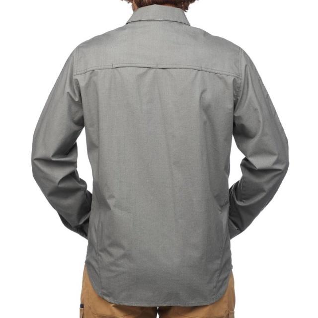 8397e648d2d МОДУЛЬНАЯ РУБАШКА TRAVEL 500 FORCLAZ. Для длительных походов и путешествий.  Очень прочная рубашка пригодится вам всюду и при любой погоде!