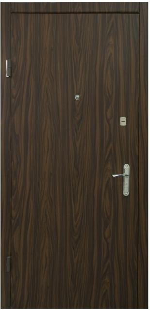 Двери входные из металла.пленка пвх+кож винил,один лист металла.