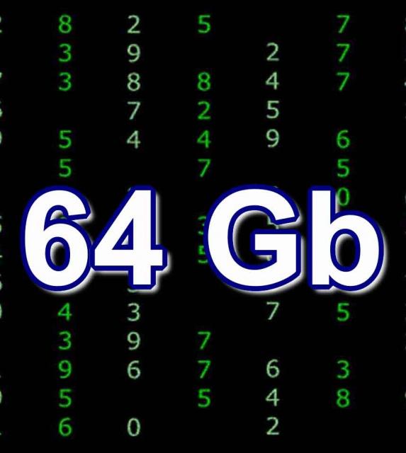 Восстановление данных 64Gb