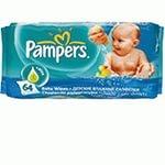 Салфетки влажные детские Pampers Baby Fresh 56