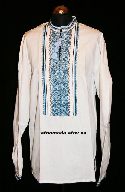 Вишиванка «Святкова» блакитна  продажа e206ad867821f